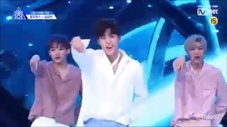 PRODUCE X 101 - GOT7 ♬Lullaby @그룹X배틀 Performance Compilation