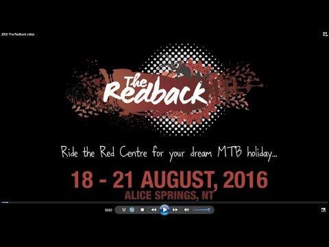 The Redback 2016 - a taste of the riding in Alice Springs