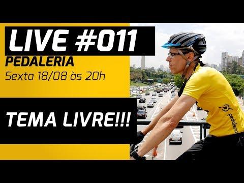 LIVE 011 - TEMA LIVRE NA PEDALERIA + PROMO CAMISETA DO CANAL!