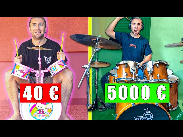 BATTERIE 40 € VS 5000 € !!