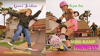 Video Mini-Ramp Madness with Gucci Jordan & Bryce Ava! download MP3, 3GP, MP4, WEBM, AVI, FLV Juni 2018