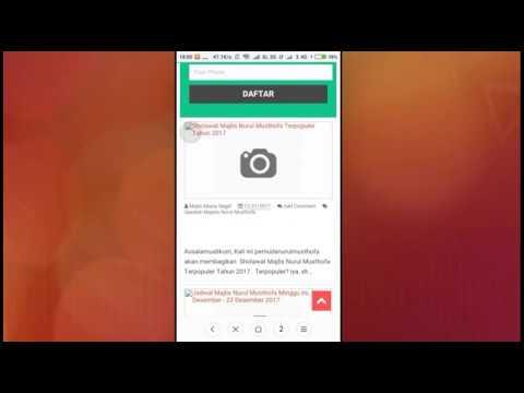 Bagaimana cara download mp3 sholawat Majlis Nurul Musthofa?