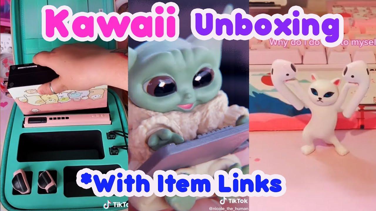 Download Kawaii TikTok Unboxing 🔮🎁🧸   Kawaii Amazon Finds With Links   Tik Tok Compilation