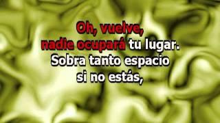 Ricky Martin - Vuelve (karaoke)