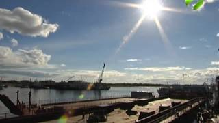 видео доставка грузов из кореи