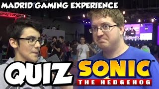 QUIZ SONIC en Madrid Gaming Experience