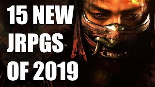 15 New Jrpgs Of 2019 And Beyond Ps4, Xbox One, Pc, Switch