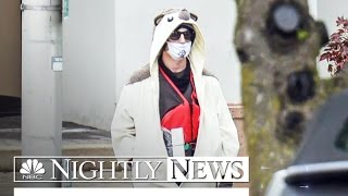 Sniper Shoots Man Wearing Apparently Hoax Bomb at Baltimore TV Station | NBC Nightly News