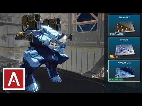 War Robots Sneak Peek - NEW Rhino, Gepard, Boa, Lancelot Paint Jobs! - iOS Test Server [2.4.0.2]