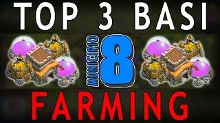 MUNICIPIO 8 FARM [4 Mortai] - TOP 3 BASI #6 | Clash of Clans [TH8]