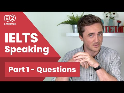 IELTS Speaking Part 1 - Questions With Jay & Alex