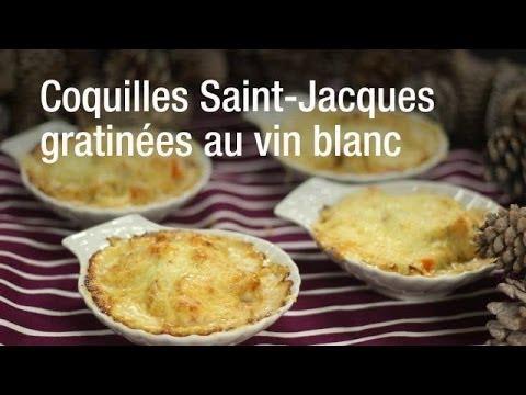 Coquilles Saint Jacques gratinées inratable et délicieuse !