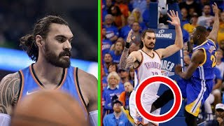 MUST WATCH: Steven Adams is the TOUGHEST Player in the NBA!! (Almost lost his testicles)