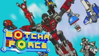 Playing Gotcha Force: Gotcha Catch