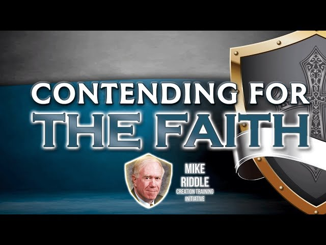Mike Riddle in Defense of the Creation