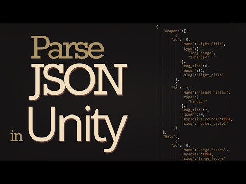 How to Read JSON Data in Unity (LitJSON)