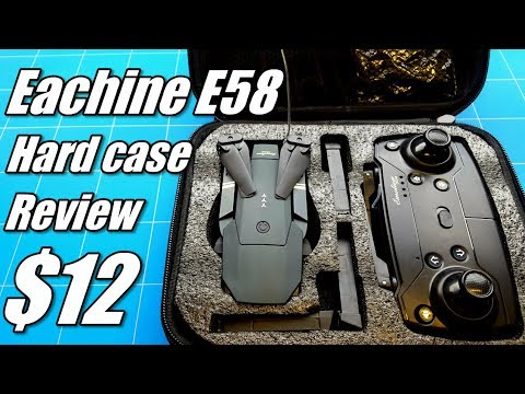 Eachine E58 WIFI FPV Drone with Camera and Altitude Hold Review - RC