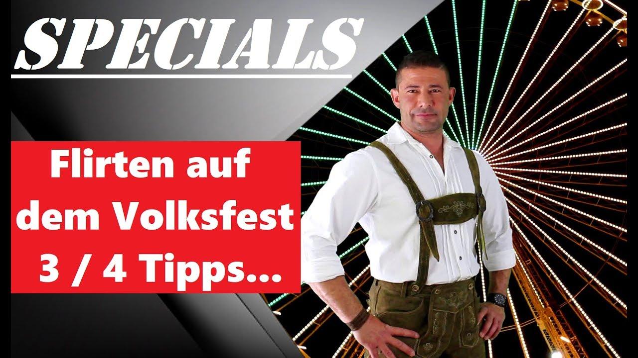 Flirten auf dem Volksfest / Oktoberfest / Plärrer ... - YouT