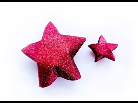 D.I.Y - Small 3D paper stars tutorial