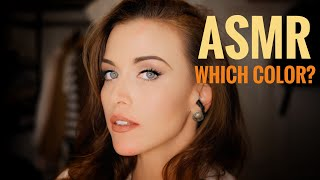 ASMR Gina Carla 💄👄 I Want Your Opinion! Soft Spoken!