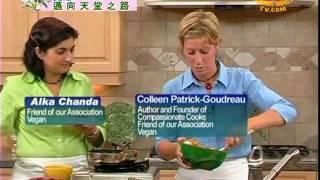 Compassionate Cooks, Featuring Colleen Patrick-goudreau, Create Peanut Tofu Veggie Stir-fr