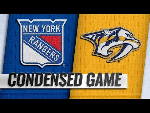 12/29/18 Condensed Game: Rangers @ Predators