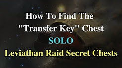 "Destiny 2: How To Find The ""Transfer Key"" Chest SOLO - Leviathan Raid Secret Chests"