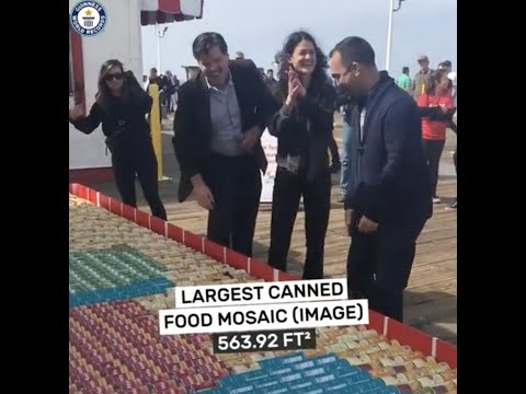 Largest Canned Food Art (World Record)
