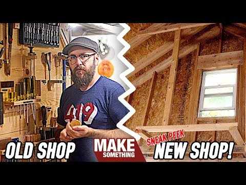 The Final Shop Tour / Moving Into the DREAM Shop!