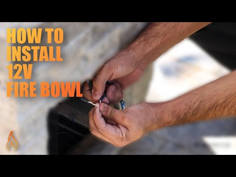 How to Install a Electronic Ignition Fire Bowl