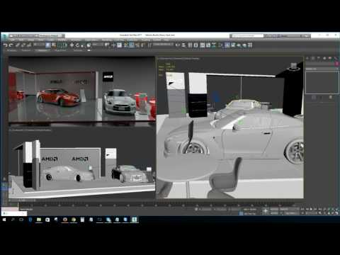 Radeon ProRender for 3ds Max - Tutorial 1 - Introduction and Workflow Overview