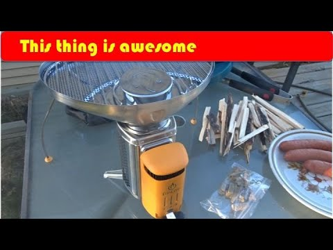 b9f29d403ed Biolite Campstove 2 First Look and Use - YouTube