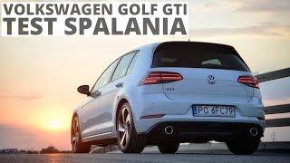 Volkswagen Golf GTI 2.0 TSI 245 KM (AT) - pomiar zużycia paliwa