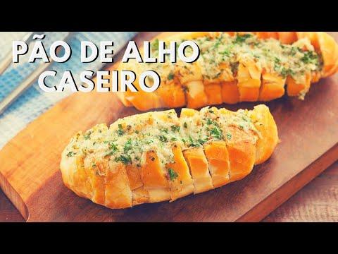 PÃO DE ALHO CASEIRO (super facil e barato)