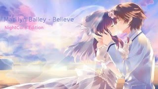Madilyn Bailey - Believe NightCore edition