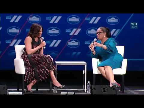 First Lady Michelle Obama and Oprah Winfrey Full Speech At The United State Of Women Summit.