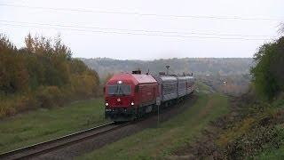 ER20CF-018 с поездом Вильнюс - Рига - Таллин / ER20CF-018 with a train Vilnius - Riga - Tallinn