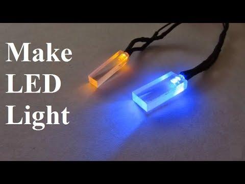 Make A LED Car Light Plexiglass Wire A LED 12V Tips And Tricks