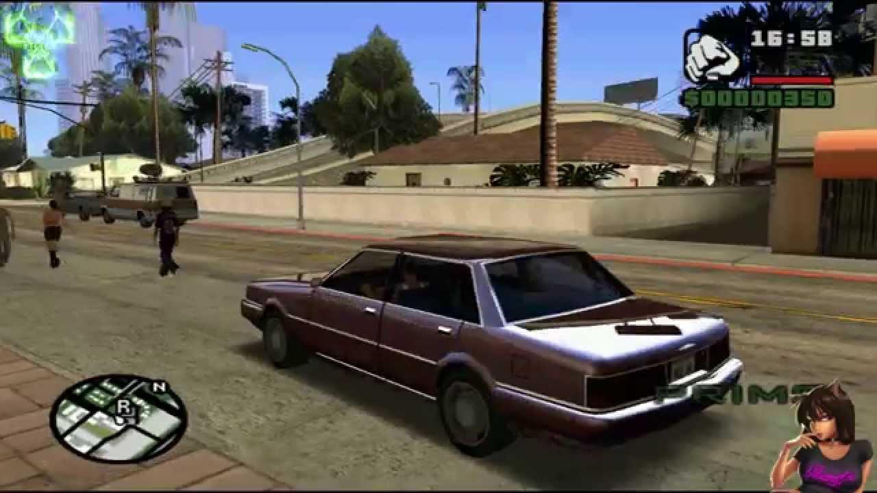 GTA San Andreas Car Reflection mod