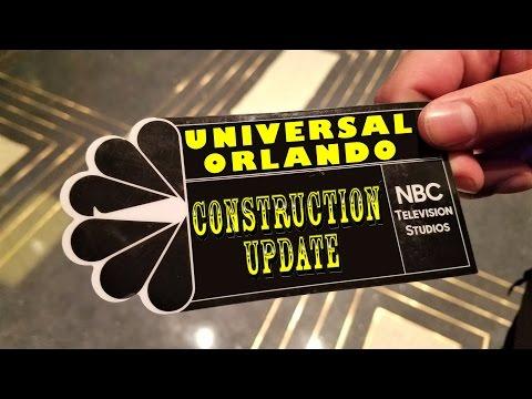 Universal Orlando Resort Construction Update 3.16.17 More Fallon Testing, Furious!