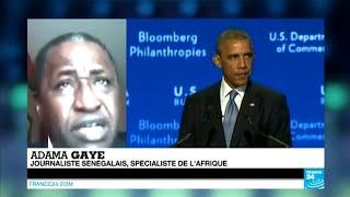 """Sommet USA-Afrique : """"Barack Obama n"""