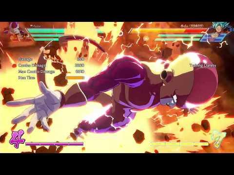 Dragon Ball FighterZ: *NEW* FRIEZA TECH (SIDE SWITCH COMBO)