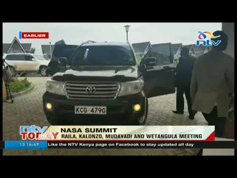 NASA summit held at Athi river to discuss coalition future