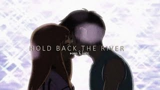 hold back the river (momo/kairi)