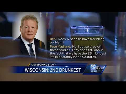 Does Wisconsin have drinking problem?