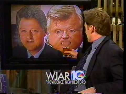 Conan Checks in with Bill Clinton's Party (1997-03-13)