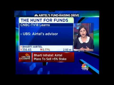 CNBC-TV18 Exclusive - Bharti Infratel: Airtel Plans To Sell More Than 5% Stake