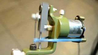 Battle Green LMG rotary tattoo machnie