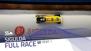 Sigulda | BMW IBSF World Cup 2018/2019 - Women's Bobsleigh Heat 1 | IBSF Official