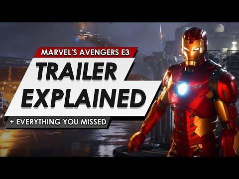 Marvel's Avengers: A-Day   Official Trailer Explained   Full Breakdown And Reaction Of E3 2019